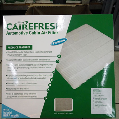 Air Con Filter - Cairefresh